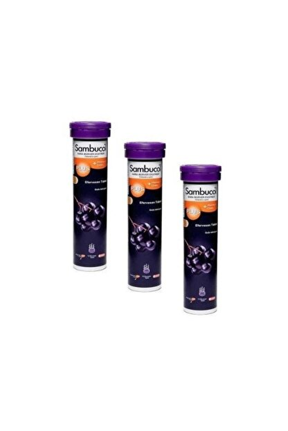 Sambucol Plus Efervesan 3'lü Paket