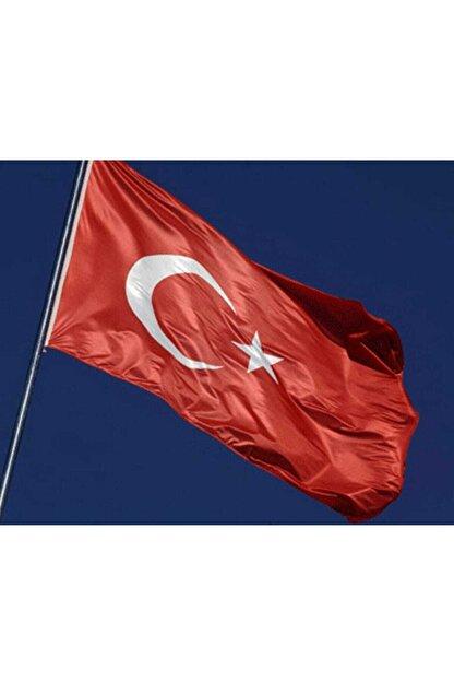 Buket Türk Bayrağı 100x150 cm Özel Raşel Kumaş Bayrak (BKT-124)