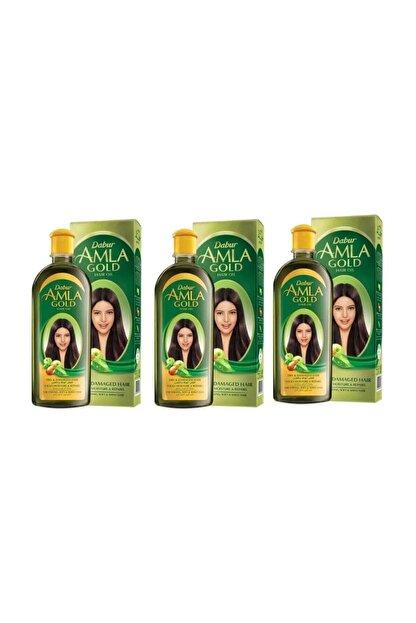 Dabur Amla Gold Saç Bakım Yağı 200 ml 3 Adet
