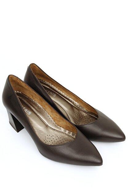 GÖNDERİ(R) Gönderi® Hakiki Deri Kadın Topuklu Ayakkabı 24170