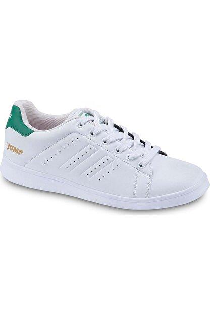 Jump 15306 Unisex Yeni Sezon Spor Ayakkabı Beyaz-yeşil 36