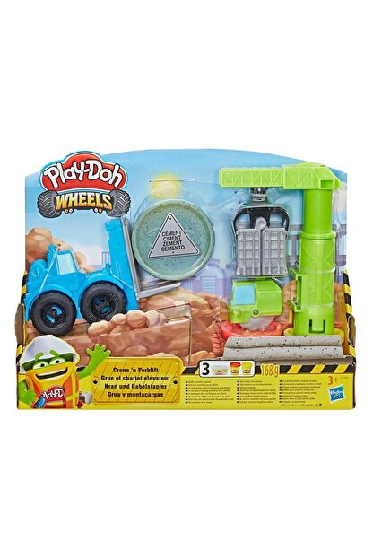 Play Doh Play-Doh Çalışkan Vinç ve Forklift