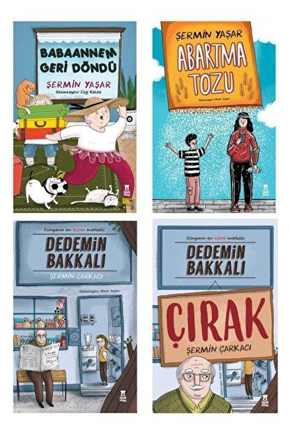 Taze Yayınları Babaannem Geri Döndü/ Abartma Tozu /dedemin Bakkalı /dedemin Bakkalı-çırak Şermin Yaşar 4 Kitap Set