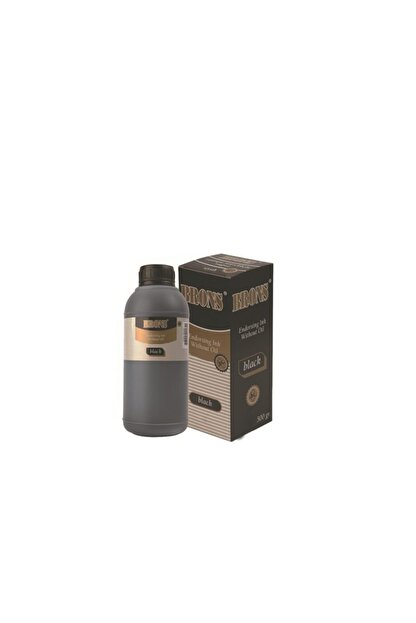 Brons Istampa Mürekkebi (yağlı) Siyah 500 Cc. Br-320