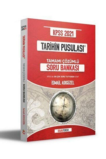 Doğru Tercih Yayınları Doğru Tercih 2021 Kpss Tarihin Pusulası Soru Bankası