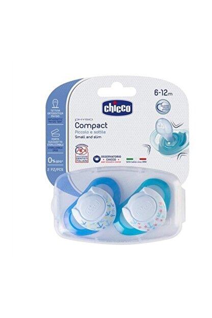 Chicco Physio Compact Silikon Emzik 6-12 Ay 2'li