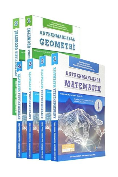 Antrenman Yayınları Antrenmanlarla 2020 Matematik 1-2-3-4 Antrenmanlarla Geometri 1-2 Set