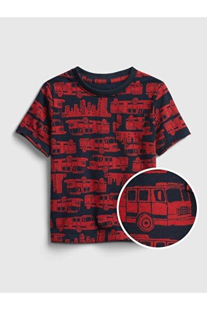 GAP Kısa Kollu Desenli T-shirt