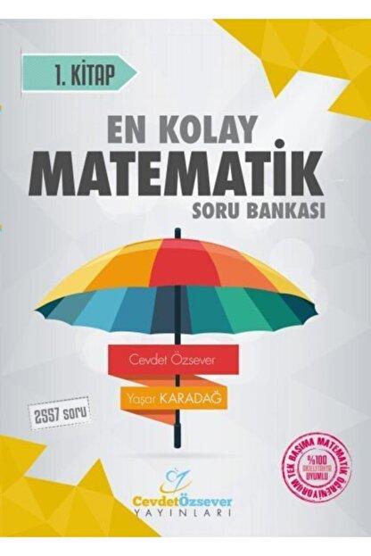 Cevdet Özsever Yayınları Pusulalı Kolay Matematik Soru Bankası