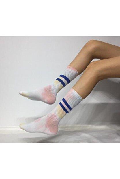 Adel Unisex Batik Boyalı Çorap