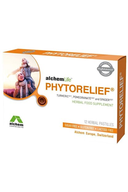 alchem Phytorelief Herbal Pastil 12 Adet