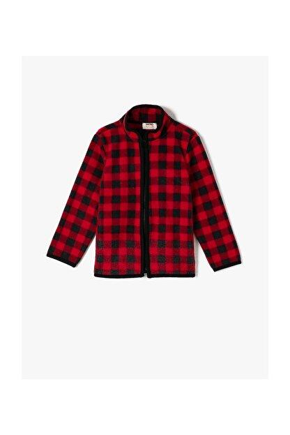 Koton Kırmızı Erkek Çocuk Sweatshirt