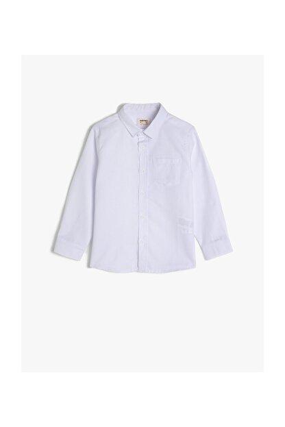 Koton Beyaz Erkek Çocuk Gömlek