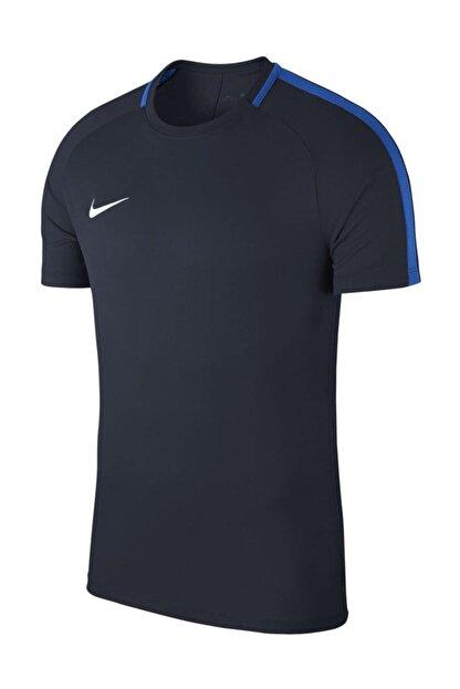 Nike Erkek Lacivert T-shirt 893693-451 M Nk Dry Acdmy18 Top Ss