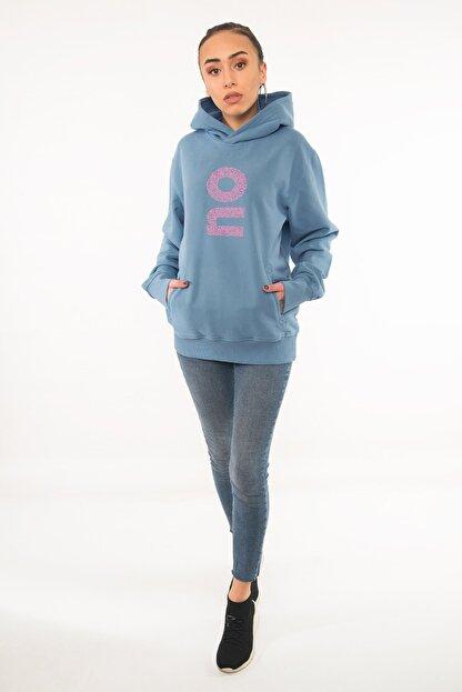 Kanduras Yes Kadın Kapüşonlu Sweatshirt