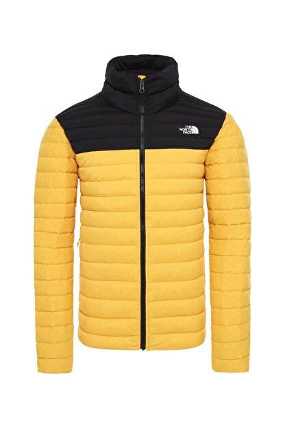The North Face Stretch Down Erkek Outdoor Mont Sarı/siyah