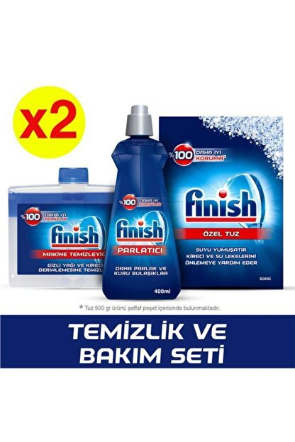 Finish Bulaşık Makinesi Temizlik Ve Bakım Seti X 2 Adet