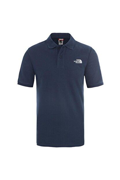 The North Face M POLO PIQUET - EU Mavi Erkek Kısa Kol T-Shirt 100576711