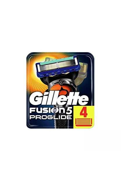 Gillette 4'lü Fusion Proglide Yedek Tıraş Bıçağı