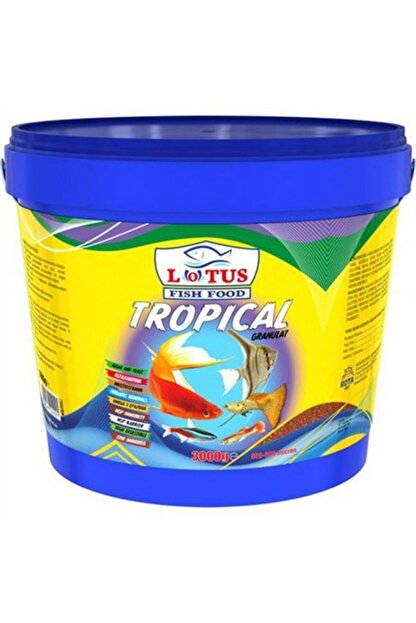 Lotus Tropical Granür 3 Kg