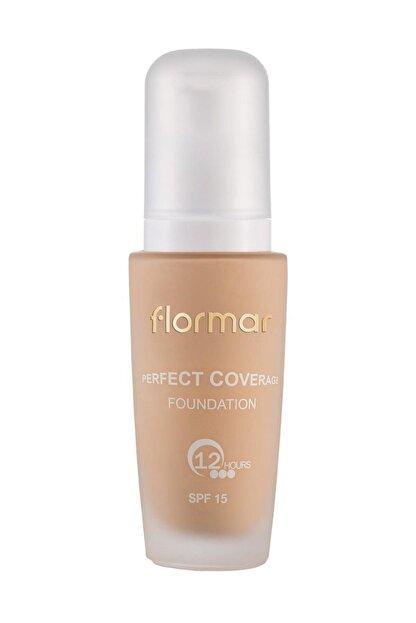 Flormar Perfect Coverage Foundation Pastelle Fondöten 101 8690604085897