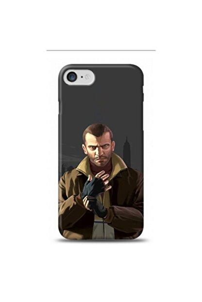 Aylakstore Apple Iphone 7 Gta Niko Bellic Desenli Telefon Kılıfı