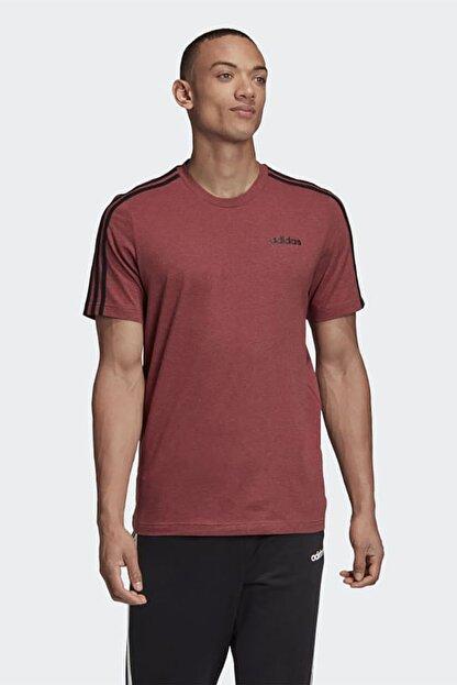 adidas Erkek Kırmızı Günlük Giyim T-shirt E 3s Tee Gd5372