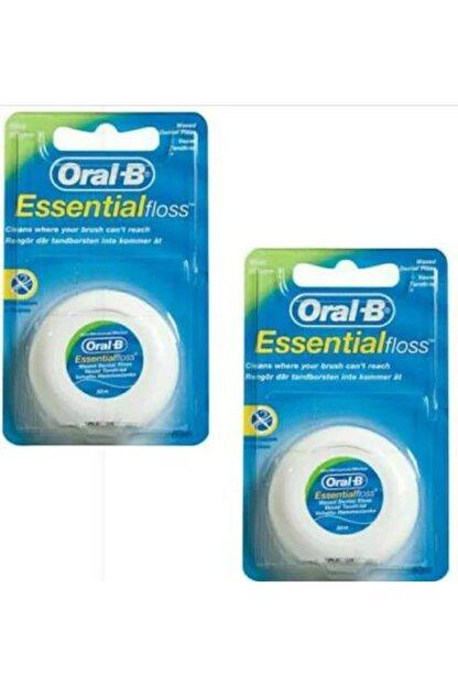 Oral-B 2 Adet Essential Floss Diş İpi 50 m
