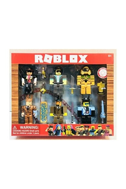 Roblox Oyuncak 6 Figür 13 Parça Xl Büyük Boy Oyun Seti