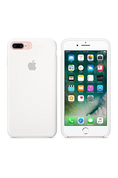 Apple Iphone 7 / 8 Plus Orijinal Silicone Case Kılıf White Iphones7pw