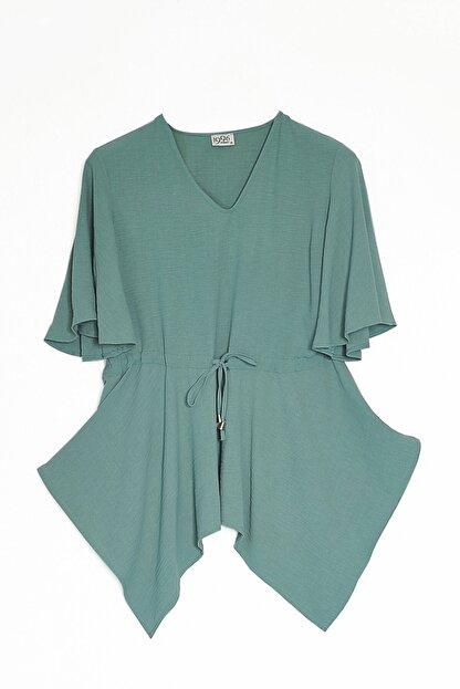 Journey Kadın Mint Yeşil Bluz