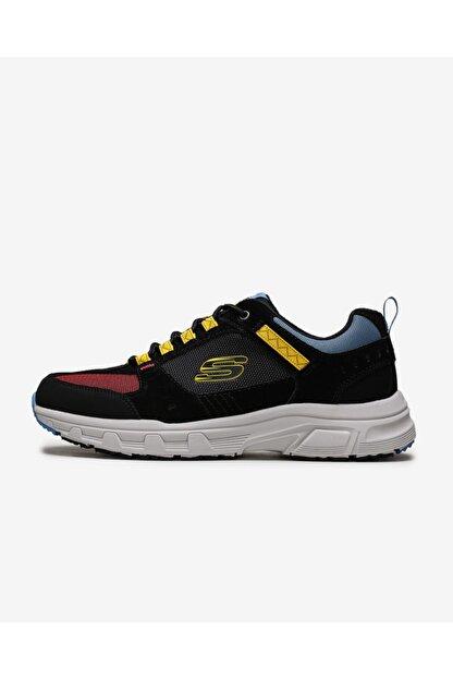 Skechers Erkek Siyah Sarı Ayakkabı 51893 Bkyl