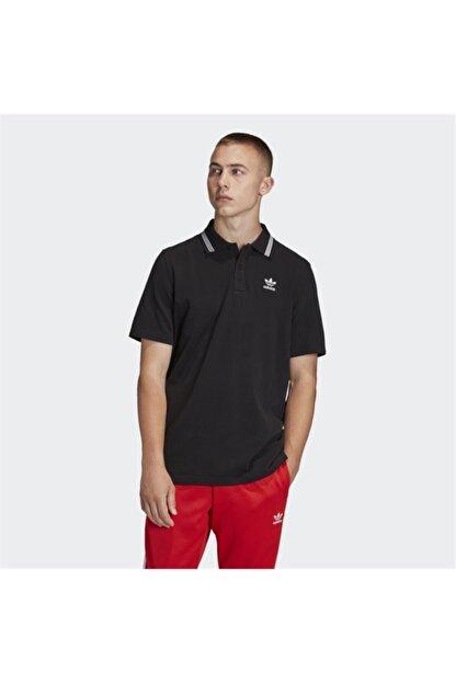adidas Black Pıque Polo