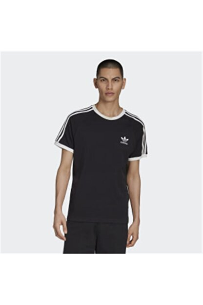 adidas Erkek Originals T-shirt - 3-Stripes Tee - CW1202