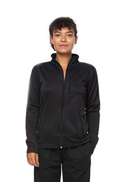 Lotto Sweatshirt Kadın Siyah-fleece Sweat Fz Pl W-r9646