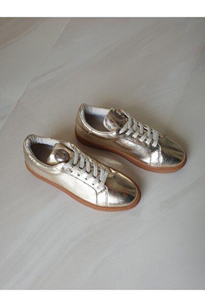 TOPUKLA 88 77 Spor Taban Hakiki Deri Bağlı Ayakkabı