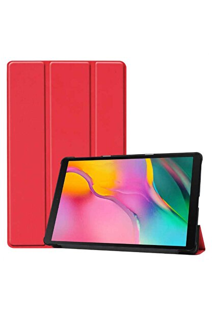Zore Huawei Matepad T8 8 Inç Arkası Şeffaf, 1-1 Tablet Kılıf Kırmızı