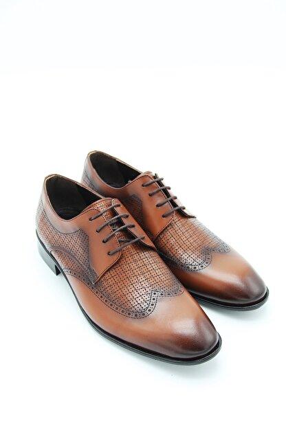 Sterk Ayakkabı Erkek Taba Topuklu Klasik Ayakkabı