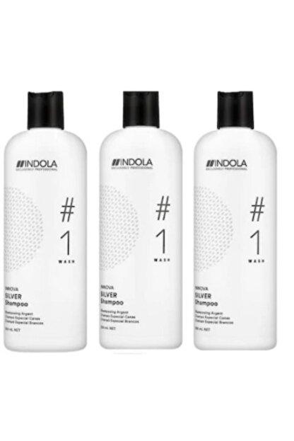 Indola Gümüş Yansıma Şampuanı 300 ml X 3