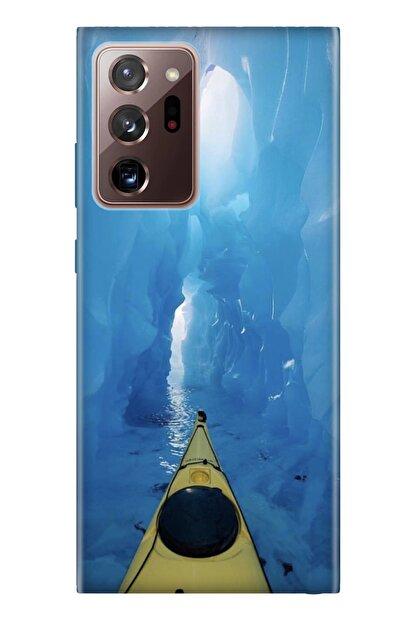 Cekuonline Samsung Galaxy Note 20 Ultra Tıpalı Kamera Korumalı Silikon Kılıf - Buzz