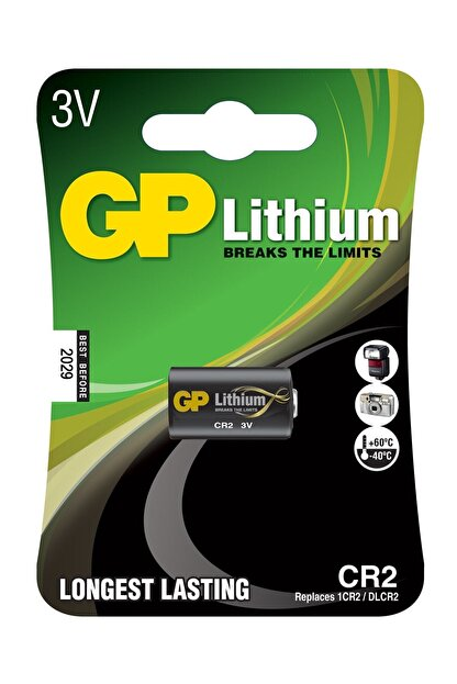 GP Batteries Pil Cr2 Lityum 3 Volt Foto Makina Pili Gp 2026
