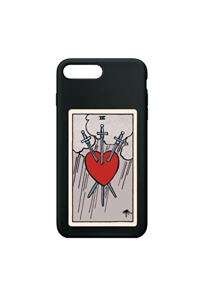 SUMTHINCS The Heart Premium Siyah Iphone 7 Plus/8 Plus Telefon Kılıfı