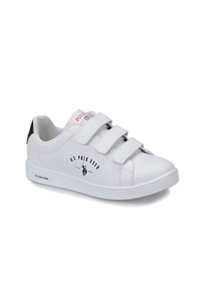 US Polo Assn U.s. Polo Assn. Kadın Ayakkabı 8P Singer Beyaz/White 20S048PSİNGER