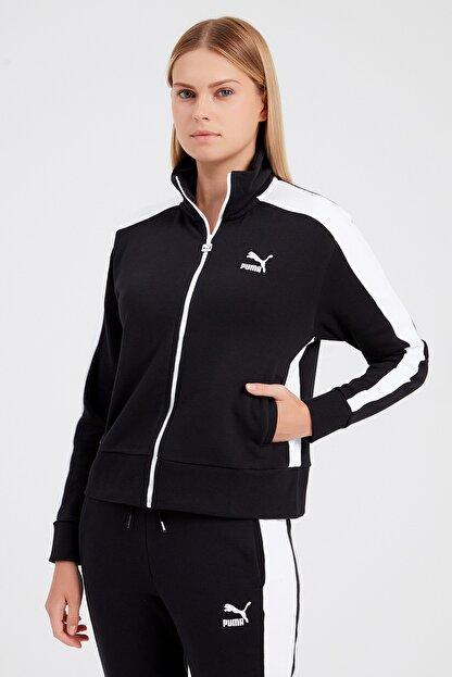 Puma Kadın Spor Ceket - Classics T7 Track Jacket FT  -  59765101