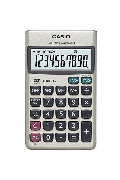 Casio 10 Hane Cep Tipi Hesap Makinesi Lc-1000tv