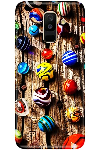 Turkiyecepaksesuar Samsung Galaxy A6 Plus Kılıf Silikon Baskılı Desenli Arka Kapak