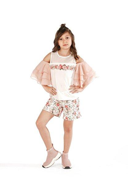 best kids Kız Çocuk Pembe Bluz 4165