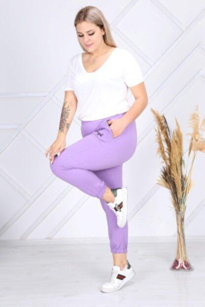 EMEZ Kadın Lila Eşofman Altı