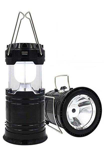 checkmate Şarjlı Usbli Solar Güneş Enerji Işıldak-Kamp Feneri Lambası