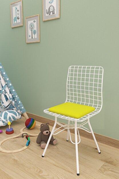 Evdemo Çocuk Sandalyesi Tel Sarı